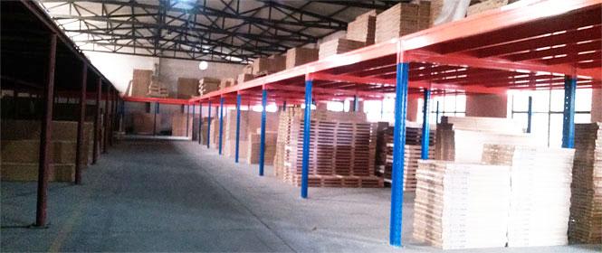 仓储阁楼货架合理管理才能化利用仓储空间