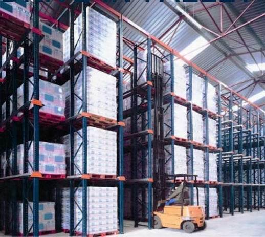 通廊式仓储货架存储货物特点