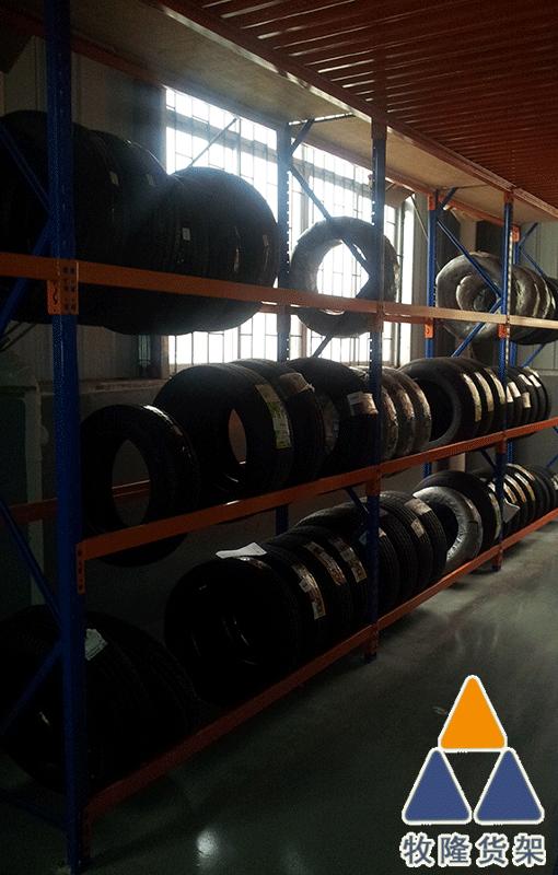 三立柱轮胎货架有什么优势?