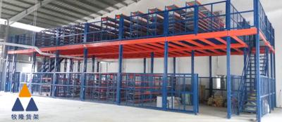 组合货架为长沙汽车配件销售公司贡献了力量,使仓库的仓储量变得更大。