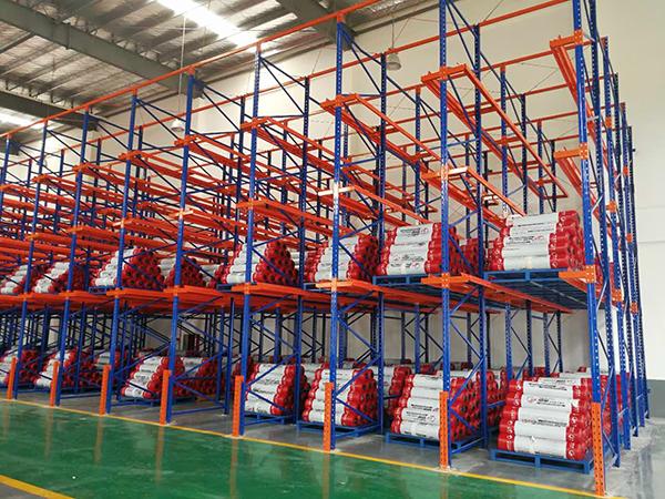 东莞货位式货架中的通廊式为长沙机械制造仓库提升效率