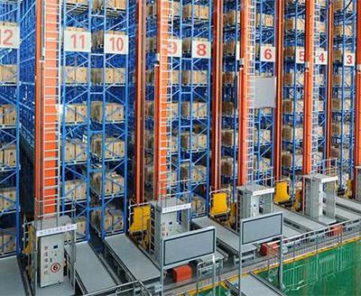 广州某物流公司使用自动立体货架来提升仓库效率