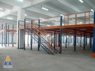 广东某家具公司与我们厂家定做大面积的阁楼货架