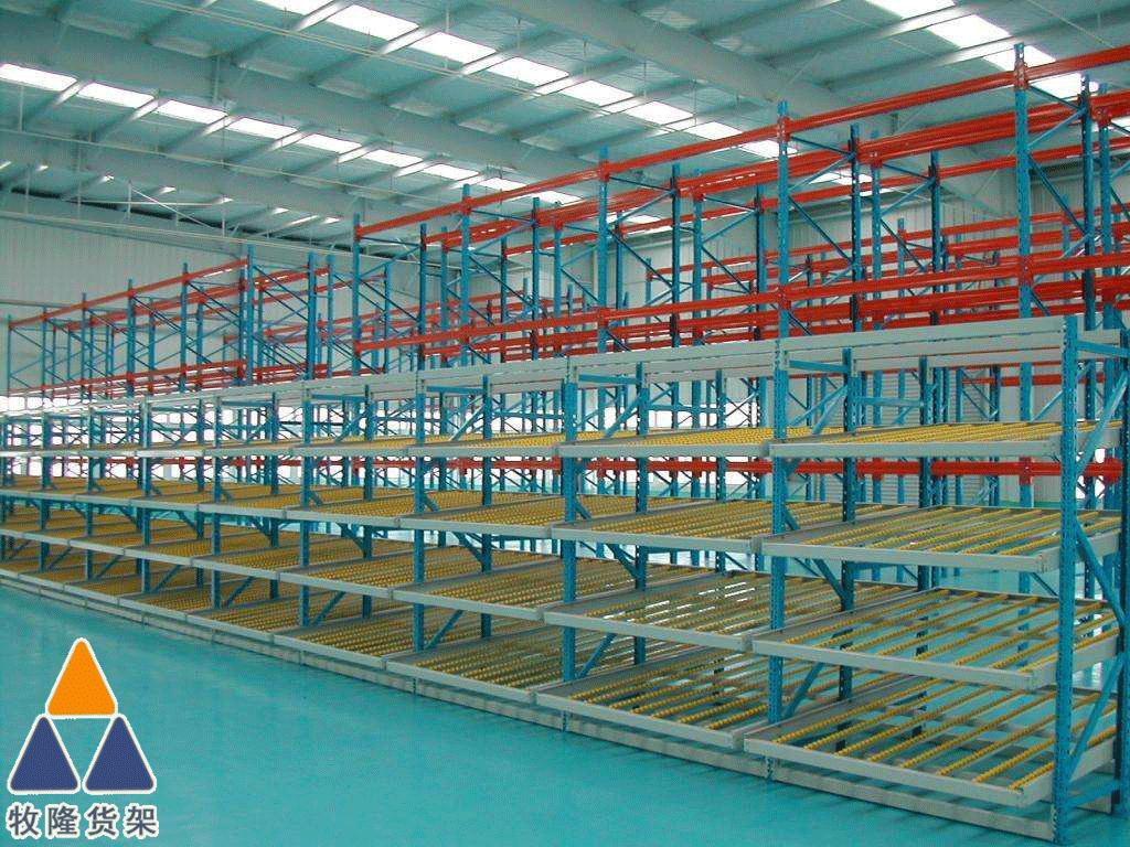 流利式货架为东莞某服装厂家仓库效率提升做出了贡献!